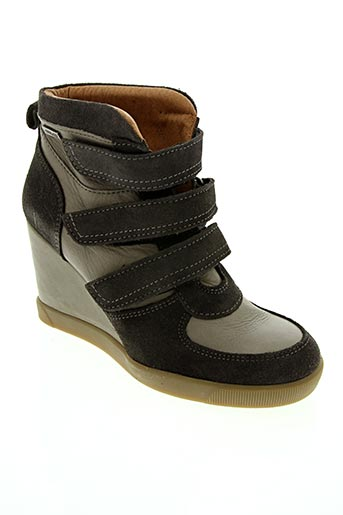 Bottines/Boots gris BEE.FLY pour femme