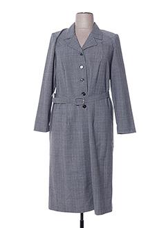 Robe mi-longue gris FRANCOISE DE FRANCE pour femme