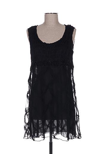 Robe courte noir GANTEB'S pour femme