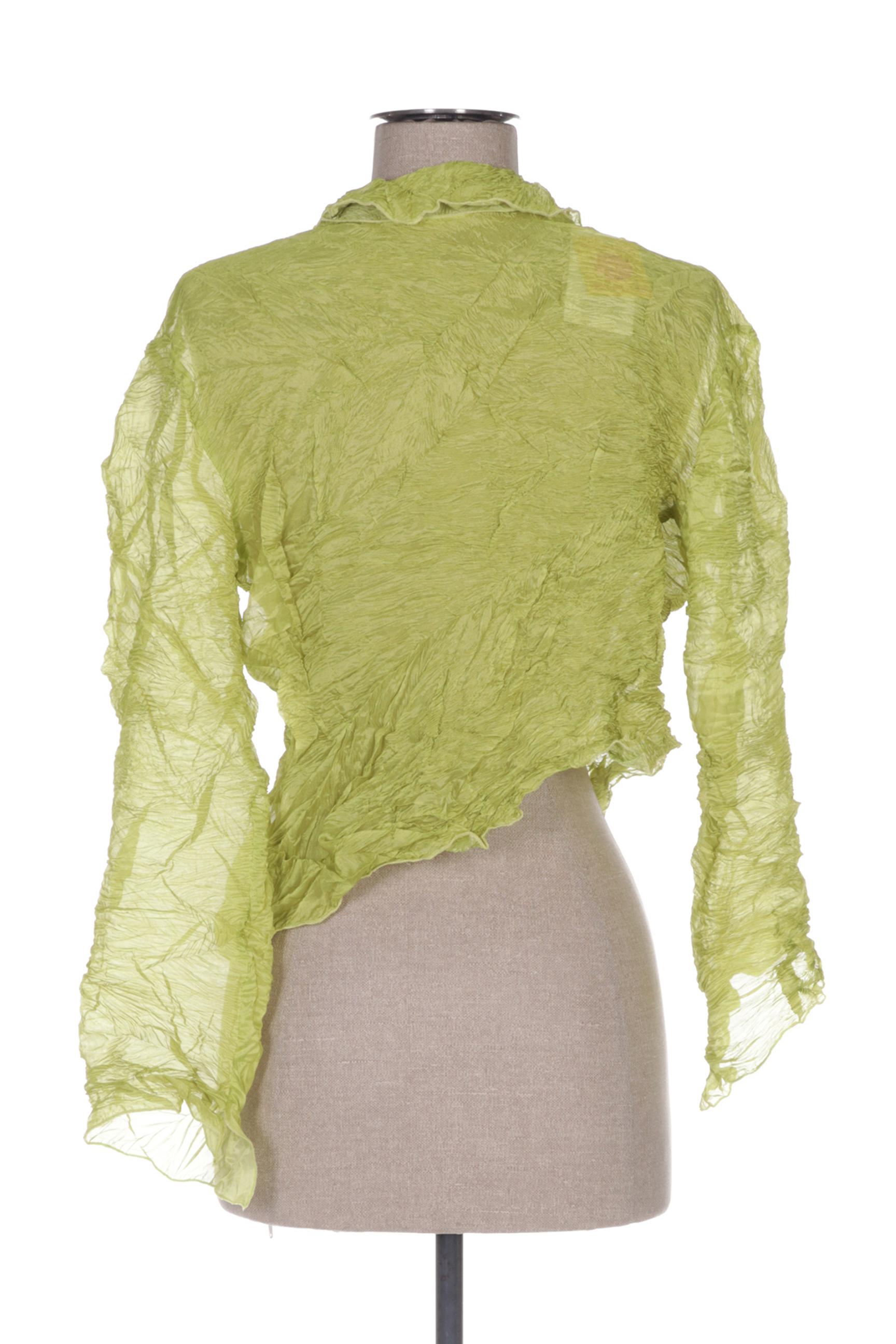 Ganteb S Boleros Femme De Couleur Vert En Soldes Pas Cher 1419474-vert00