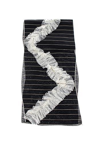Foulard noir GANTEB'S pour femme