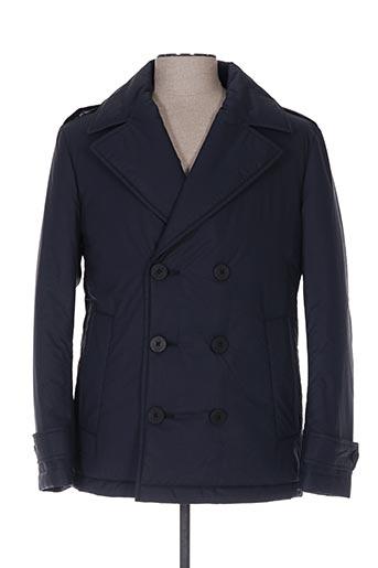 Manteau court bleu HUGO BOSS pour homme