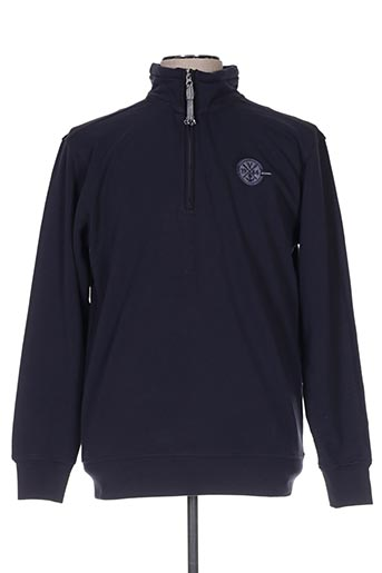 Sweat-shirt bleu EASYLINE pour femme