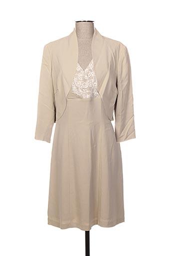 Veste/robe beige CINZIA ROCCA pour femme