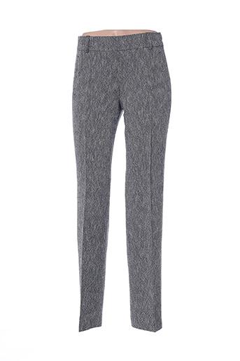 Pantalon casual gris DIANA GALLESI pour femme