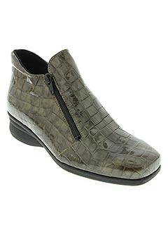 Bottines/Boots gris HIRICA pour femme