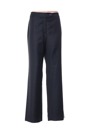 Pantalon casual noir BERNARD ZINS pour femme
