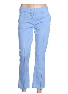Pantalon 7/8 bleu SPORTMAX pour femme