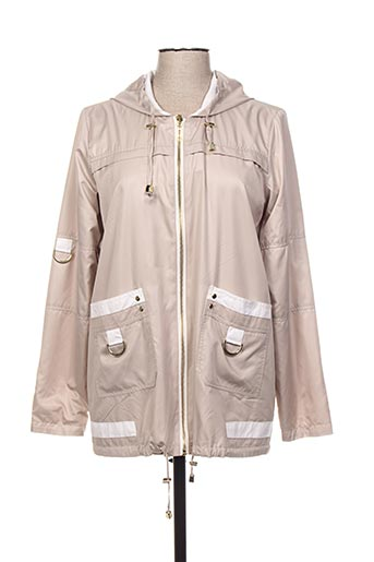 Veste casual beige REVER MILE pour femme
