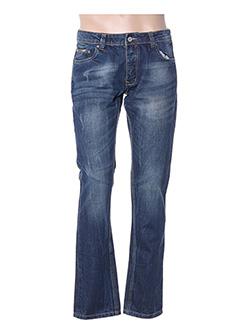 Jeans coupe slim bleu ALCOTT pour homme