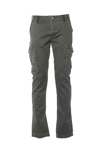 Pantalon casual vert BIAGGIO pour homme