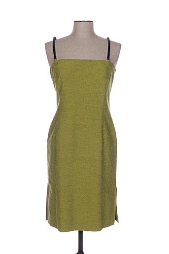 Robe mi-longue vert D.U.S.K pour femme
