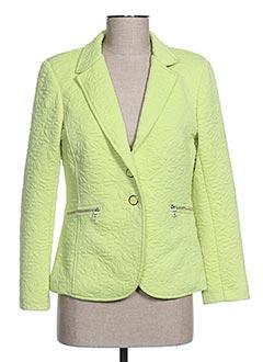 Veste chic / Blazer vert DIVAS pour femme