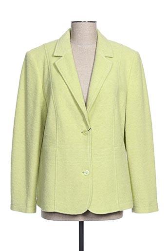 Veste chic / Blazer vert EUGEN KLEIN pour femme