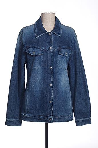 Veste en jean bleu DISMERO pour femme