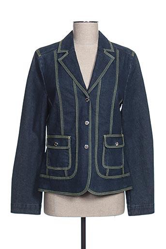 Veste en jean bleu HAUBER pour femme