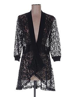 Veste casual noir FUEGO WOMAN pour femme