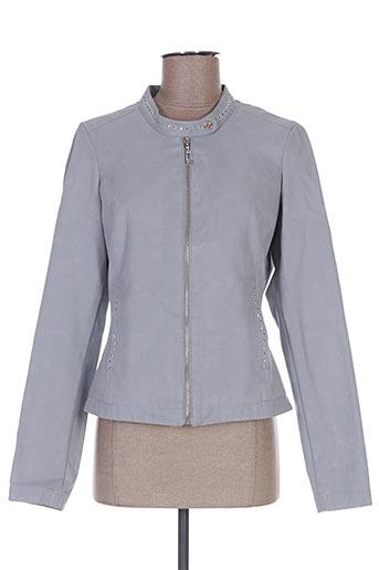 Veste casual gris REVER MILE pour femme