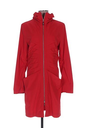 Veste casual rouge BARONIA pour femme