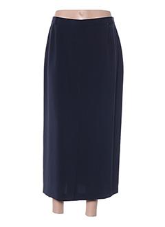 Jupe longue bleu FRANKENWÄLDER pour femme