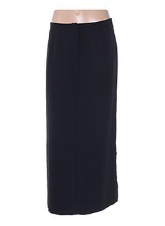 Jupe longue noir ATIKA pour femme