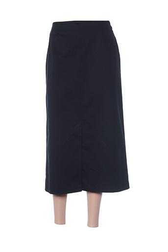 Jupe longue noir HAUBER pour femme