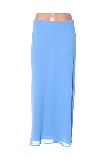 Jupe longue bleu FRANK USHER pour femme