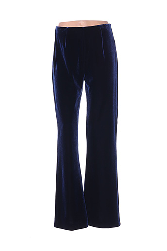 Pantalon chic bleu FRANK USHER pour femme