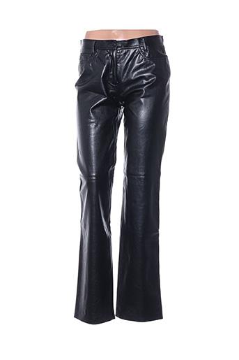 Pantalon chic noir HAUBER pour femme