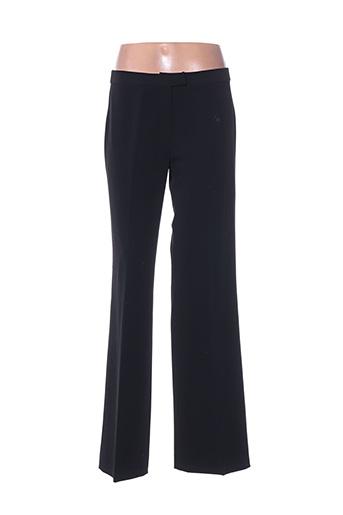 Pantalon chic noir ISABEL DE PEDRO pour femme