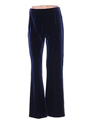 Pantalon chic bleu FRANK USHER pour femme seconde vue