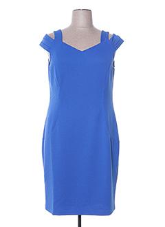 Robe mi-longue bleu DIVAS pour femme