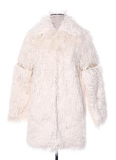 Manteau long beige SCHOOL RAG pour femme