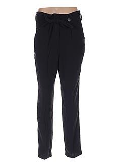 Pantalon casual noir SCHOOL RAG pour femme