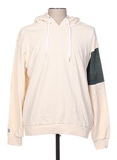 Sweat-shirt beige QUIKSILVER pour homme