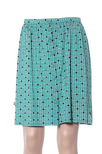 Jupe courte vert FROY & DIND pour femme