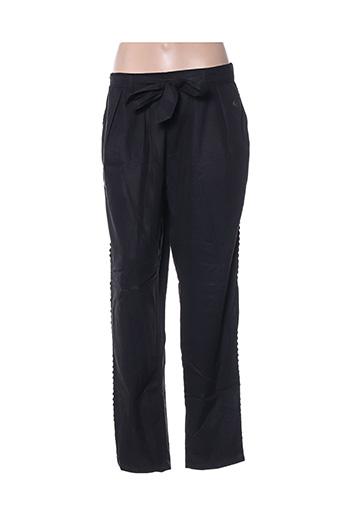 Pantalon casual noir BLUTSGESCHWISTER pour femme