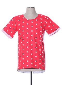 T-shirt manches courtes rouge HIMSPIRE pour homme