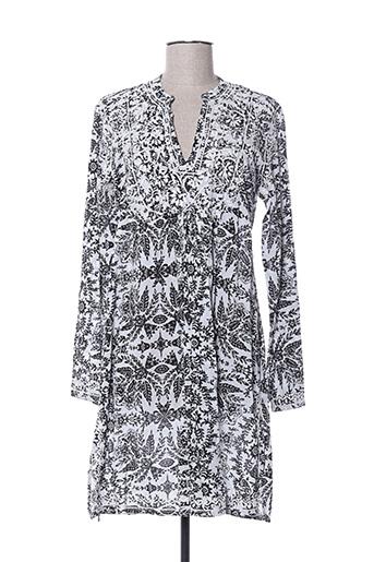 Robe mi-longue gris PALME pour femme