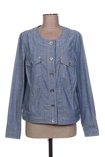 Veste en jean bleu PAUPORTÉ pour femme