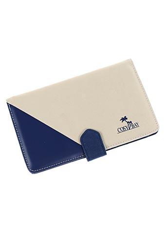 Portefeuille bleu COSY BAY pour femme
