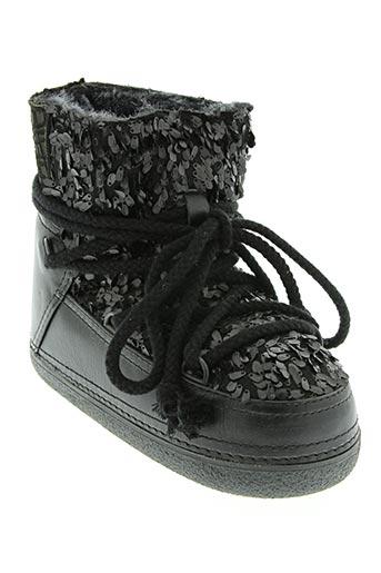 Bottines/Boots noir IKKII pour femme