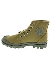 Bottines/Boots marron PALLADIUM pour garçon seconde vue