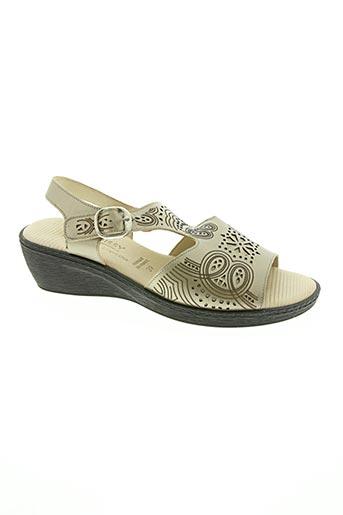 Sandales/Nu pieds beige BOISSY pour femme