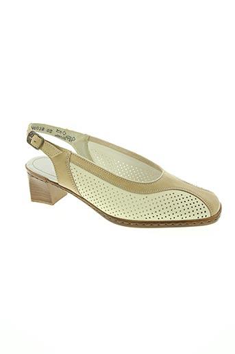 Sandales/Nu pieds beige DORNDORF pour femme