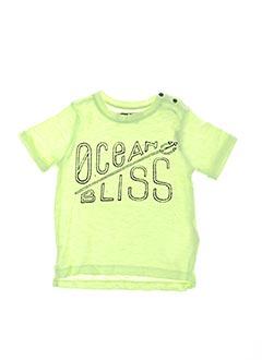 T-shirt manches courtes jaune TUMBLE'N DRY pour garçon