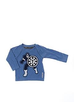 T-shirt manches longues bleu TUMBLE'N DRY pour garçon