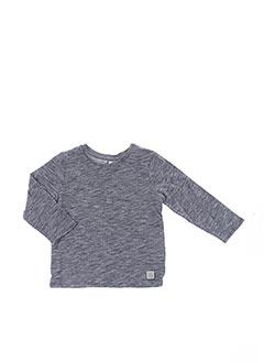 T-shirt manches longues gris CARREMENT BEAU pour garçon