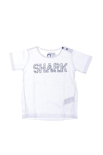 T-shirt manches courtes blanc TUMBLE'N DRY pour enfant