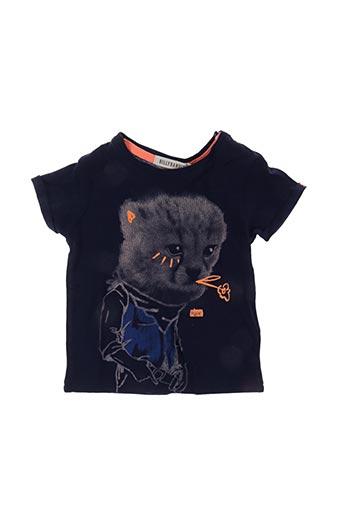 T-shirt manches courtes bleu BILLYBANDIT pour enfant